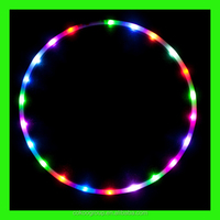 Wholesale LED Glow Hula Hoops on Alibaba/led hula hoop