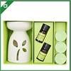 ceramic fragrance oil burner /aroma oil burner with tea light