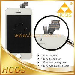 Newest For apple iphone 5 original LCD , mobile phone lcd screen for iphone 5,for iphone 5 touch display
