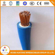 china manufactuer welding cable / rubber double insulated cable / extra flexible cable