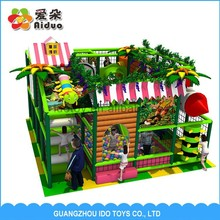 High quality kids entertainment play cente used commercial children activities playhouse