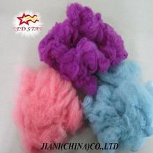 100% 3D polyester fiber recycled chemical fiber Polyester Staple Fiber regenerated PSF for non-woven