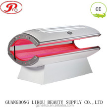 Top sell!!! 24pcs UV lamps collagen tanning bed with red light therapy tanning bed