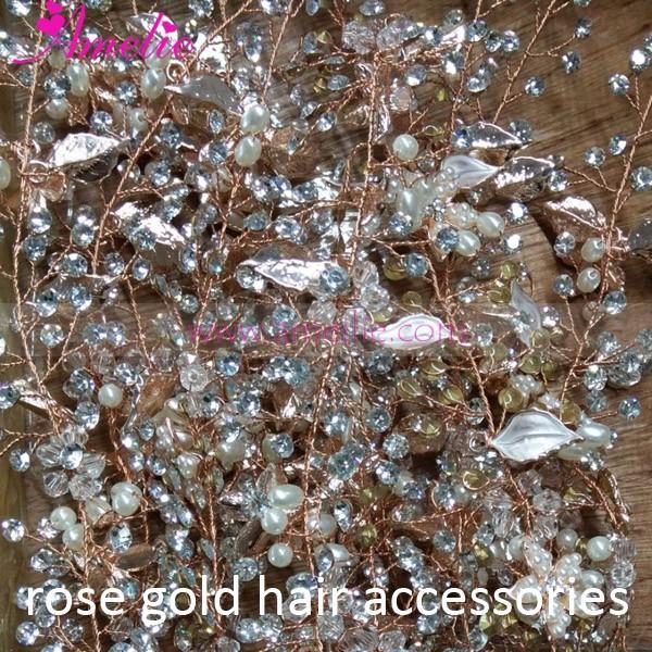 AC95 Rose Gold Hair Accessories (5)