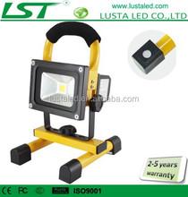 Portable Floodlight 5W 10W 20W Magnetic Stand Outdoor IP65 Epistar LED Flood Light 12V 24V Rechargeable LED Magnetic Work Light
