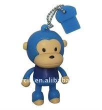 Many models for Blue Monkey cartoon character usb flash drive 2.0
