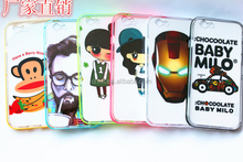 Phone Cases With hard PC glow bumper For Iphone 5,Bulk Cheapest Cell Phone Case Oem