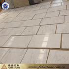Tipos branca telhas de mármore de mármore branco desenho do piso