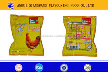 4g/piece, 10pieces/box, 160boxes/carton, HALAL chicken beef fish flavour stock cube seasoning cube
