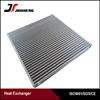 OEM air cooled aluminum plate &bar aluminum oil cooler core with high heat transfer