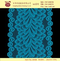 Nigerian dress making 2015 top one wholesale cord lace royal blue lace fabric for dress, tops