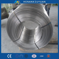 Hot Sale CaSi Metal Alloy Cored Wire China Manufacturer Supply