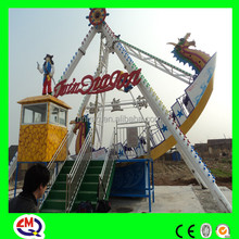 Thrilling electric adults amusement rides swing ship