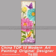 Pinturas abstractas de acrílicos sobre lienzo