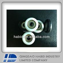 (nylon,delrin,poly propylamine,POM,PP)plastic injection window roller bearing 608zz