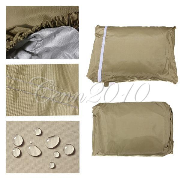 Details about 4 PASSENGER GOLF CART COVER For EZ GO Club Car Yamaha Eagle Taupe Storage 112""