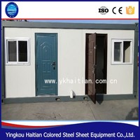 20ft or 40ft low cost prefab house shipping container mobile house with bathroom price from China