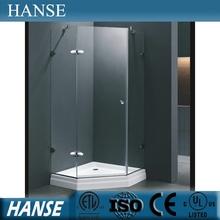HS-SR837 8mm glass shower door clear shower enclosure/comfort shower room