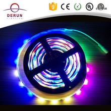 RGB multi-color 5050 dmx 6803 IC led strip 2811 with controller