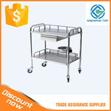 Factory Direct Stainless steel medicine cart