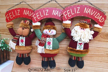 3 Asst Hanging Christmas Decorations,Factory Direct Sale Christmas Decorations,Small Order Available Christmas Decorations