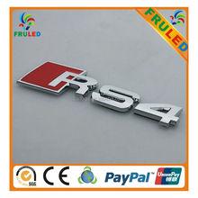 Chrome Plating car logo,car body logo 3m glue