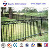 metal pool aluminum ornamental fence manufacturer with ISO 9001