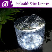 light weight inflatable solar lantern led outdoor light