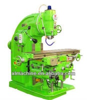heavy duty vertical knee type milling machine for metal machining