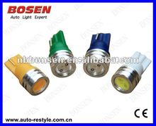 Free shipping+wholesale+best offer+20pcs/lot + T10 1.5W Indicator Light Sidelight Bulbs license plate light