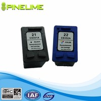 Remanufactured inkjet cartridge for HP21