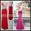 NEW Prom Dress | CY62795 Open Back Sleeveless Red Long Mermaid Evening Dress 2015