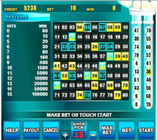 Gse-314 feliz Keno partido de la placa base y máquina de juego de Bingo