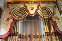 Home decor latest turkish window curtains designs for the living room
