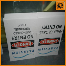 Shanghai factory corrugated plastic poster board for sale