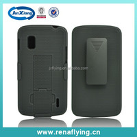 China supplier mobile phone wholesale pc combo case for LG E960