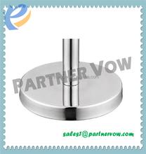 Flat Iron Cast Base for Retractable Queue Barrier