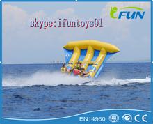 inflatable flying fish drive / inflatable aqua flyfish boat / flyfish inflatable towables