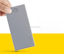 Ultra thin mobile power bank 10000mah, High quality polymer battery 10000mah power bank