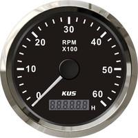 KUS 6000 RPM digital/truck/engine generator tachometer