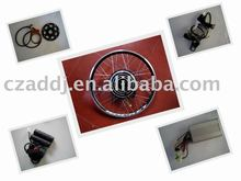CE-approved 48v500w front electric bike convertion kit