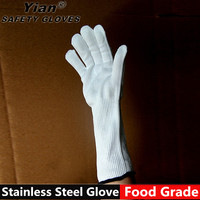 Good quality nocry cut resistant gloves stainless steel butcher safety glove