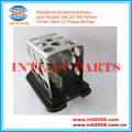 Aire acondicionado ventilador Resistencia 1267.E3 9641212480 para Peugeot 206 307 406 Socio Citroen Xsara C3 Picasso Berlingo