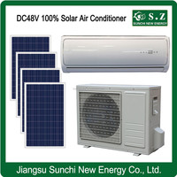DC 48V off grid Split wall mounted hot selling best air conditioner brand