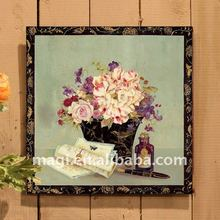 "11x11"" Vintage Flower Crafts Home Decorative Metal Wall"