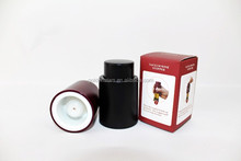 New products 2014 top hot ABS Button Vacuum Sealed Wine Storage Bottle Stopper Preserver Sealer Cap
