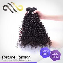 Oem Colour Virgin Curly Hair And Supreme Remy Hair Weave
