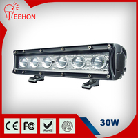 30W LED Work Light Bar Car Offroad Vehicle Truck Mine Boat 6x5W Off Road IP68 Driving Fog Light Refit Roof Head Lamp