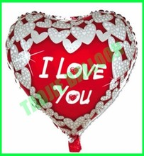 "18"" I love you balloon,Valentine' Day balloon"