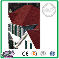 Standard single layer decorative cheap hexgonal roofing tiles made in China